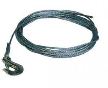 Vinç için galvanizli çelik halat. Ø 5mm, 7.5metre.