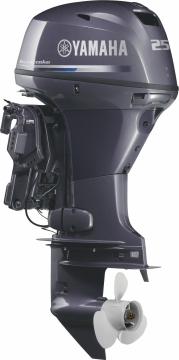 Yamaha 25 HP 4 Zamanlı Deniz Motoru F25 DETL / Trimli Remote Kontrol Uzun Şaft