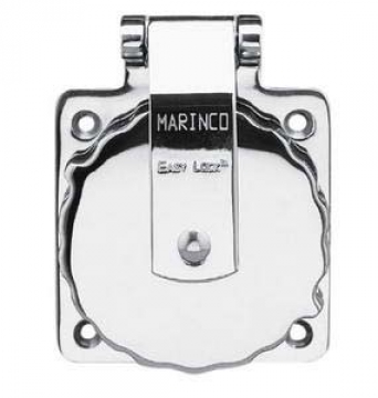 Marinco AISI316 paslanmaz çelik priz. 220 V.