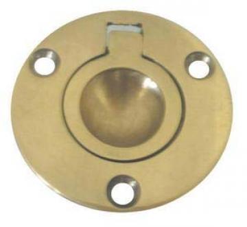Gömme kulp,sarı. 54x63 mm.