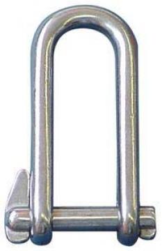 Zincir kilidi, AISI 316 paslanmaz çelik, pimli