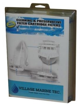 Racor Village marin temizlik filtre kartuşu kiti