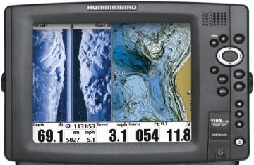 1199c HD SI GPS Combo (Side Imaging®) Fotografi k Yan & Dip Görüntüleme Balık Bulucu, Harita Okuyucu, Sonar