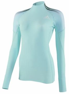 Adidas ASA CL uzun kollu yüksek yaka tişört, bayan