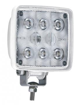 8 LED'li Kare Lamba 12-24 V Işık Gücü: 700 Lümen