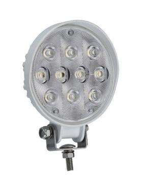 10 LED'li Yuvarlak Lamba 12-24 V Işık Gücü: 920 Lümen