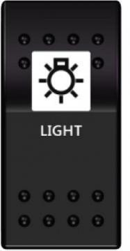 Switch On-Off 12-24V Lamba