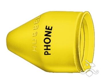 Hubbell telefon fişi için koruyucu kılıf