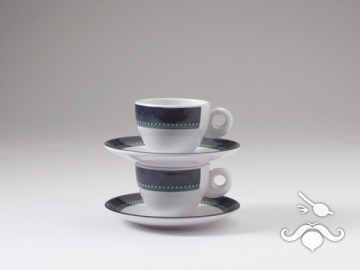 Melamin espresso fincanı, 2'li set