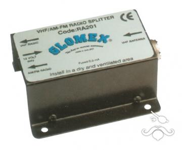 Glomex RA201 VHF/AM-FM bölücü.