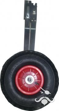 Krom bot taşıma tekerleği ( Kısa ayak)