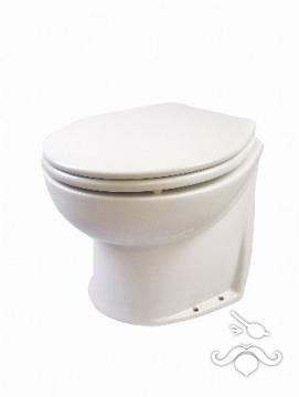JABSCO DELUXE FLUSH ALÇAK AÇILI ARKALI, ELEKTRİKLİ VANALI ( SOLENOID VALVE) WC