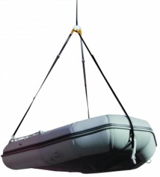 Şişme bot askı sistemi.