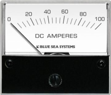 DC Ampermetre. 0-100 A.