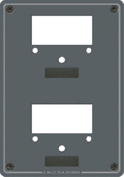 Voltmetre/ampermetre için panel.
