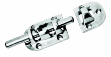 Sürgü kilit, AISI 316 döküm paslanmaz çelik. 85x31 mm.