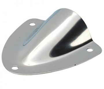 Paslanmaz çelik havalandırma, özellikle tank ve kablo çıkışlarını serpintilerden korumak için idealdir.