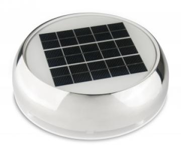 Nicro Day&Night 2000 solar havalandırma. Paslanmaz çelik