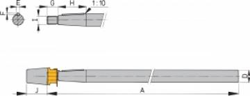 Vetus pervane şaftı.\nØ: 25 mm.\nBoy: 1 metre.