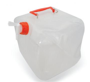 Musluklu Şişme Katlanır Su Bidonu   5 Lt