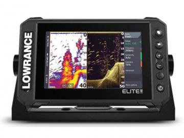 Lowrance Balık Bulucu + GPS - ELITE 7 FS Down Scan