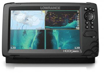Lowrance Balık Bulucu + GPS Hook Reveal 9 50/200kHz
