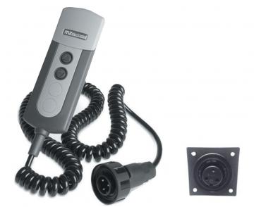 Kablolu El Kumandası Ekranlı 12-24V (EV020)