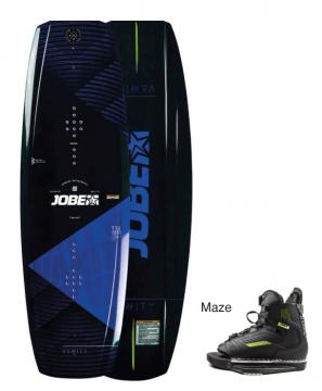 JOBE Wakeboard Vanity Mavi 136 cm Maze Ayakkabı: 40-45