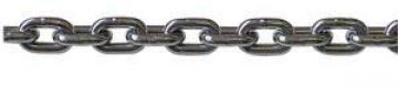 Zincir, DIN766, kalibre, AISI 316 paslanmaz çelik. 6mm.