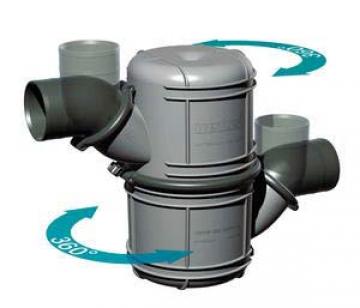Waterlock. 51mm iç çaplı egzoz hortumlarına uygundur. Su kapasitesi 4.5 litredir.