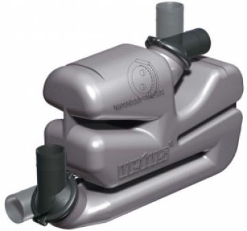 Vetus waterlock, uzun egzoz sistemleri için.
