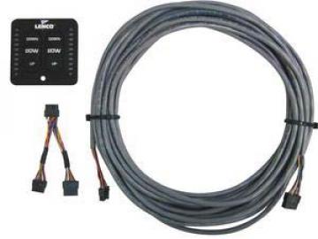 Lenco fly- bridge kumanda kiti. Kontrol paneli, Y kablo ve 15mt ara kablodan oluşur.