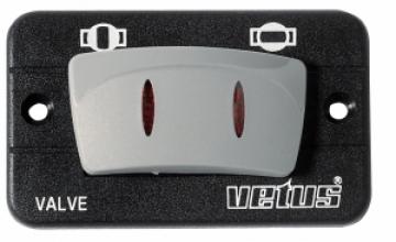 Vetus elektrik kontrollü vana için kontrol paneli. 24V.